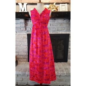 1960s Liberty House Maxi Dress, Lilia of Honolulu